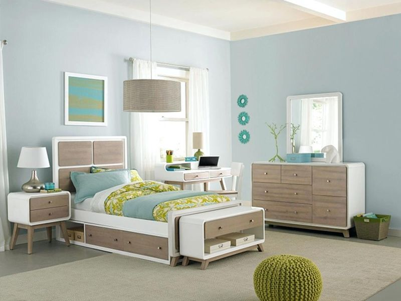 Mẫu giường ngủ đẹp có ngăn kéo đẹp 2021