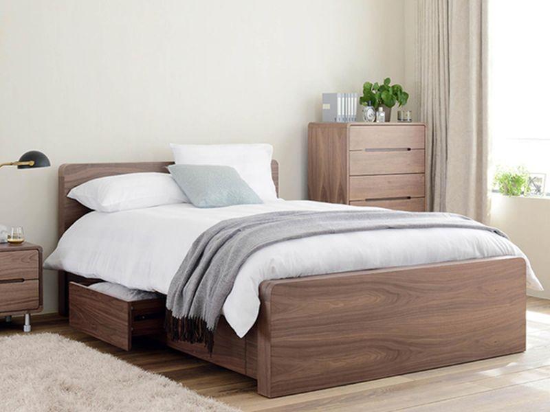 Giường ngủ thông minh có ngăn kéo để đệm - M1