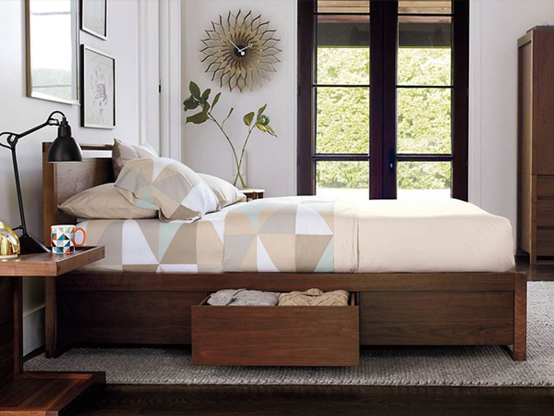 Giường ngủ thông minh có ngăn kéo để đệm - M4