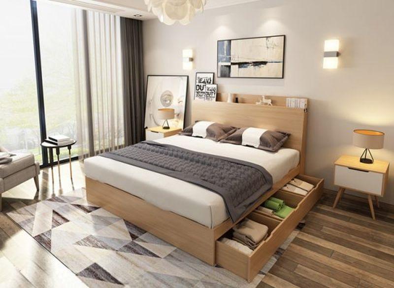 Giường ngủ thông minh thiết kế có ngăn kéo tiện dụng - M3
