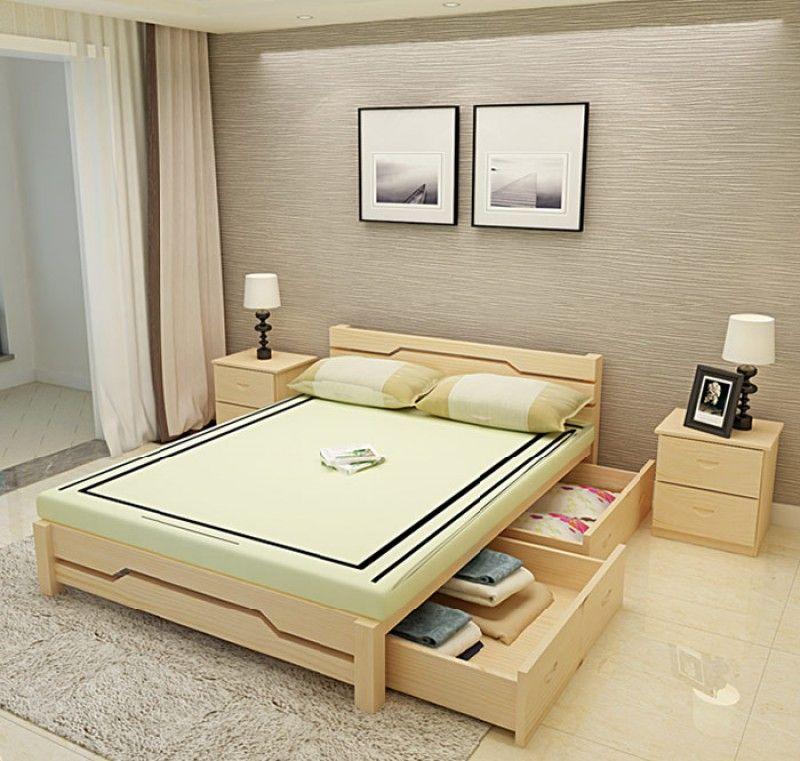 Giường ngủ thông minh có ngăn kéo để đệm - M6