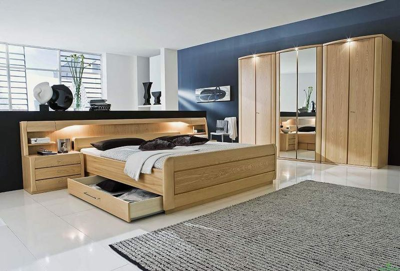 Giường ngủ thông minh thiết kế có ngăn kéo tiện dụng - M4