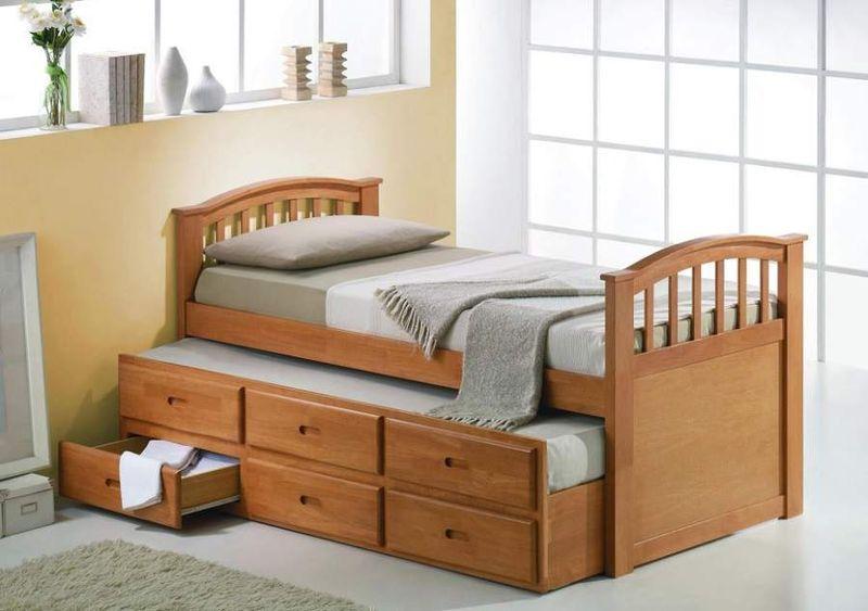 Giường ngủ thông minh thiết kế có ngăn kéo tiện dụng - M7