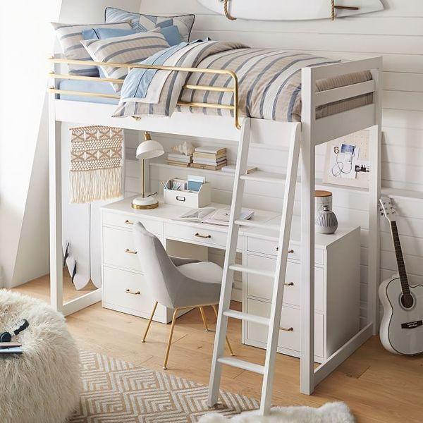 Mẫu giường tầng đa năng dành cho bé gái - M4