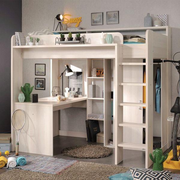 Giường tầng thông minh kết hợp bàn học là một trong những sản phẩm nội thất mang đặc tính tối ưu không gian