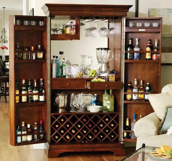 Kích thước tủ rượu theo loại rượu