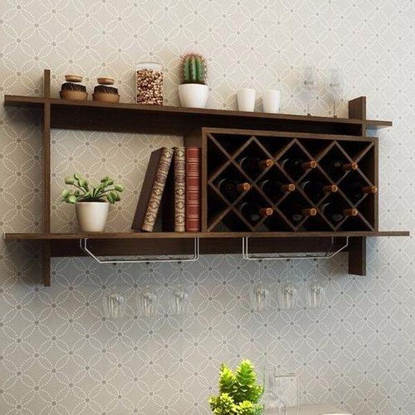 Mẫu tủ rượu treo tường đẹp