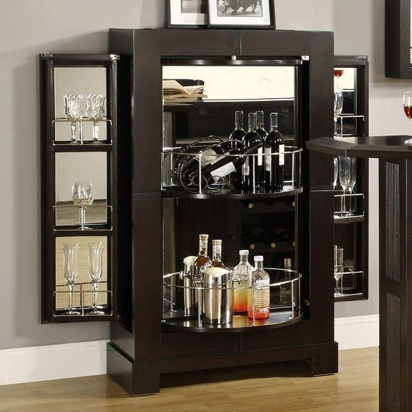 Tủ trưng bày rượu kiểu hiện đại