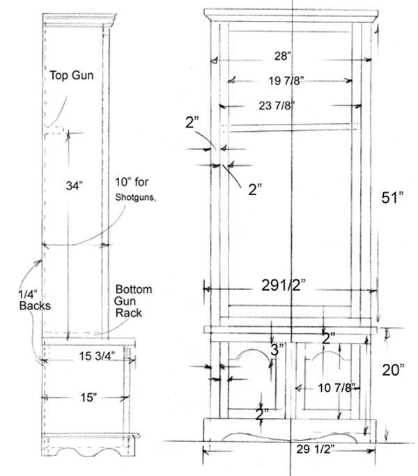 Bản vẽ kích thước tủ trưng bày rượu chi tiết - H6