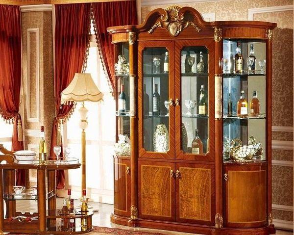 Mẫu tủ rượu cổ điển