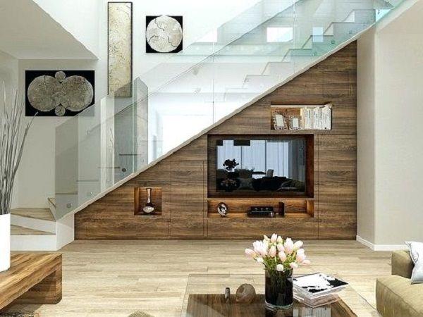 Tủ tivi dưới gầm cầu thang - M6