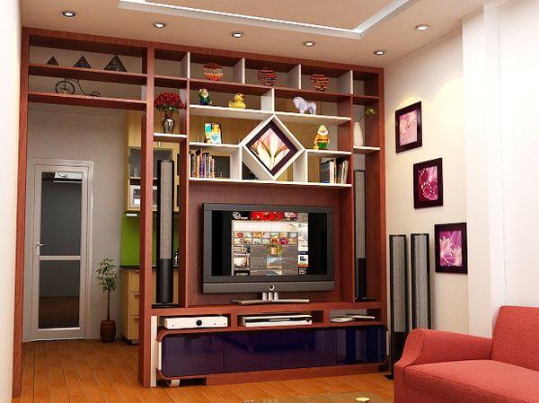 Tại sao nên sử dụng tủ vách ngăn phòng khách và bếp?