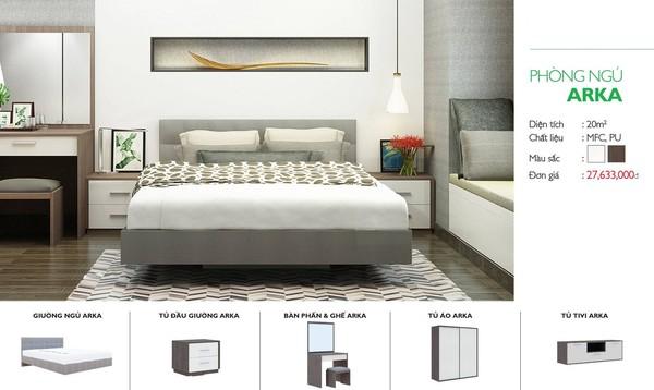 Combo phòng ngủ - Mẫu 4